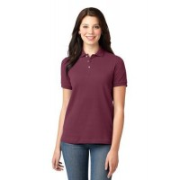 Port Authority® Ladies Heavyweight Cotton Pique Polo.