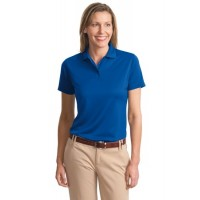 Port Authority® Ladies Poly-Charcoal Blend Pique Polo