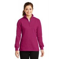 Sport-Tek® Ladies 1/4-Zip Sweatshirt.