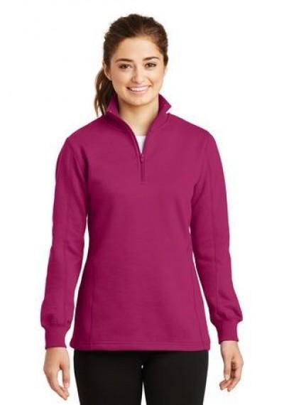 Sport-Tek® Ladies 1/4-Zip Sweatshirt.