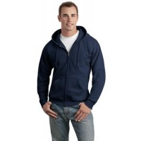 Hanes® - EcoSmart® Full-Zip Hooded Sweatshirt.