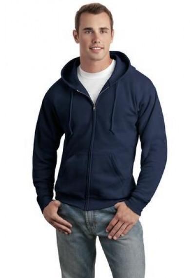 Hanes® - EcoSmart® Full-Zip Hooded Sweatshirt.