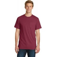Port & Company® Pigment-Dyed Pocket Tee.