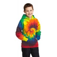 Port & Company® Youth Tie-Dye Pullover Hooded Sweatshirt