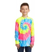 Port & Company® Youth Tie-Dye Long Sleeve Tee.