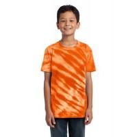Port & Company® - Youth Tiger Stripe Tie-Dye Tee