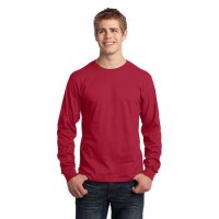 Port & Company® - Long Sleeve Core Cotton Tee.