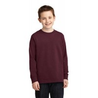 Port & Company® Youth Long Sleeve Core Cotton Tee.