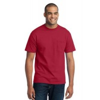 Port & Company® Tall Core Blend Pocket Tee