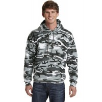 Port & Company® Core Fleece Camo Pullover Hooded Sweatshirt