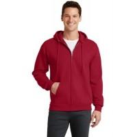 Port & Company® - Core Fleece Full-Zip Hooded Sweatshirt.