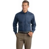 Red House® - Herringbone Non-Iron Button-Down Shirt