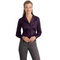 Red House® - Ladies Herringbone Non-Iron Button-Down Shirt