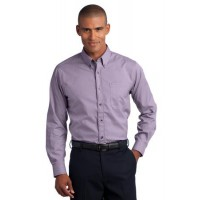 Red House® - Mini-Check Non-Iron Button-Down Shirt