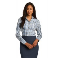 Red House® Ladies Tricolor Check Non-Iron Shirt
