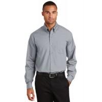 Port Authority® Long Sleeve Value Poplin Shirt.