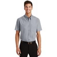 Port Authority® Short Sleeve Value Poplin Shirt.