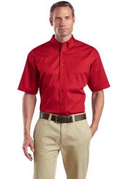 CornerStone® - Short Sleeve SuperPro™ Twill Shirt.