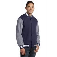 Sport-Tek® Fleece Letterman Jacket