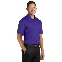 Sport-Tek® PosiCharge® Active Textured Colorblock Polo