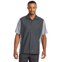 Red Kap® Short Sleeve Ripstop Crew Shirt