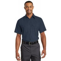 Red Kap® Short Sleeve Solid Ripstop Shirt