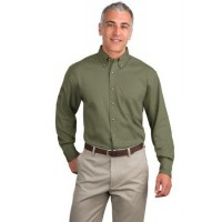 Port Authority® Tall Long Sleeve Twill Shirt