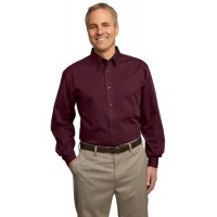 Port Authority® Tall Tonal Pattern Easy Care Shirt