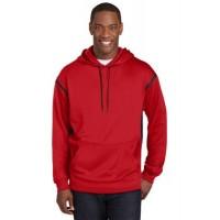 Sport-Tek® Tall Tech Fleece Colorblock Hooded Sweatshirt