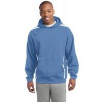 Sport-Tek® Tall Sleeve Stripe Pullover Hooded Sweatshirt.