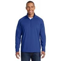 Sport-Tek® Tall Sport-Wick® Stretch 1/2-Zip Pullover