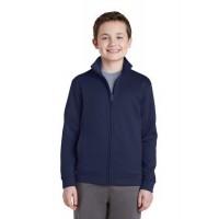Sport-Tek® Youth Sport-Wick Fleece Full-Zip Jacket