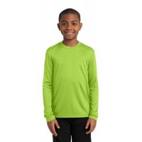 Sport-Tek® Youth Long Sleeve PosiCharge® Competitor™ Tee.