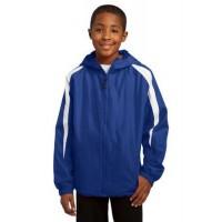 Sport-Tek® Youth Fleece-Lined Colorblock Jacket